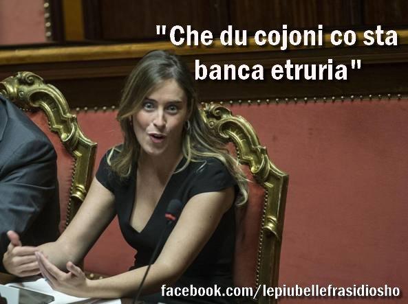 Il vittimismo di Maria Elena